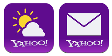 yahoo weather and mail