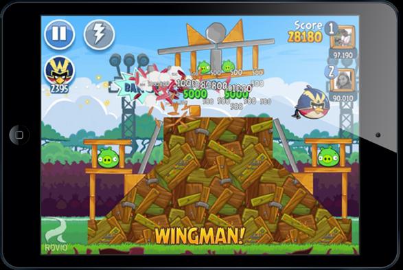 Angry Birds Friends iPad