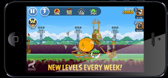 Angry Birds iOS 1