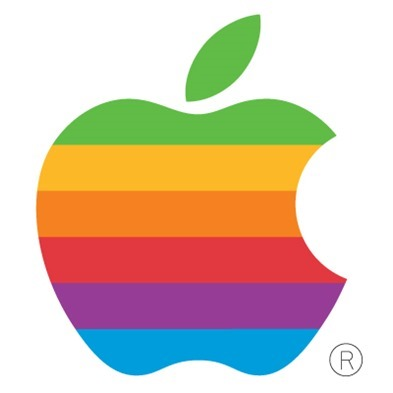 Apple logo old