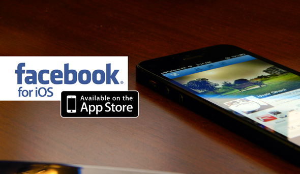 Facebook for iPhone iPad logo