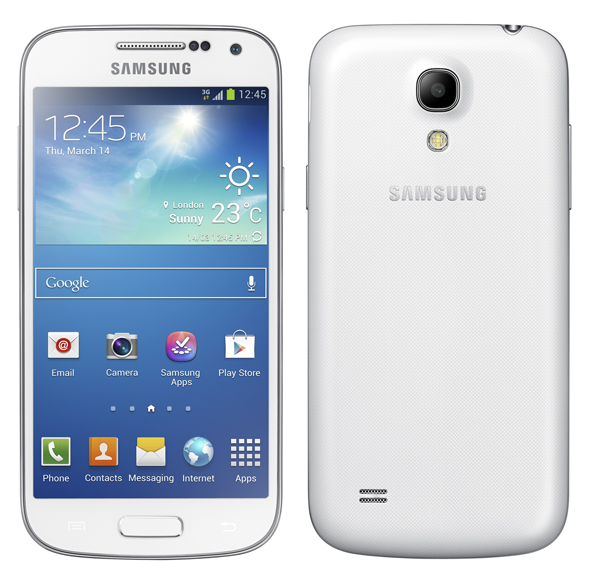 Galaxy S4 mini white