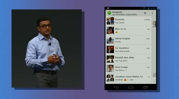 Google Hangouts 1