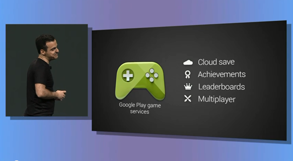 Google play games services header