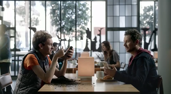 HTC One BlinkFeed ad