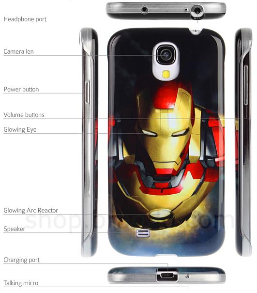 Iron Man case GS4