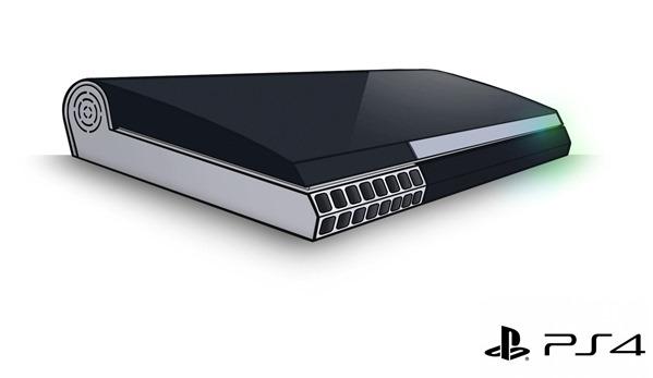 PS4 Design Concept
