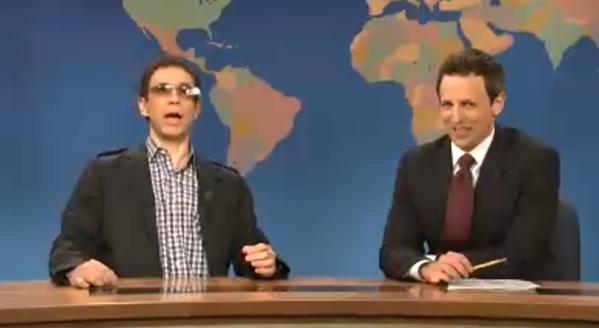 SNL Google Glass