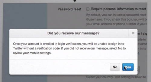 How To Enable Twitter Two Step Login Verification For Your Account