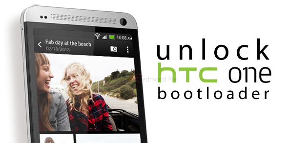 Unlock HTC One bootloader