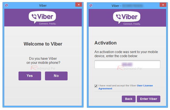 Viber desktop 1