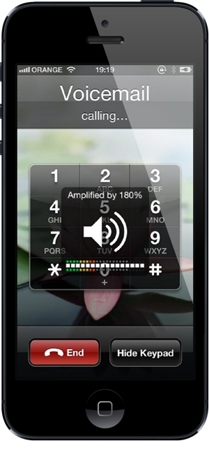 VolumeAmplifier iPhone 5
