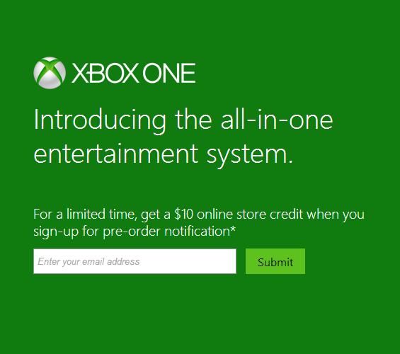 Xbox Pre-order