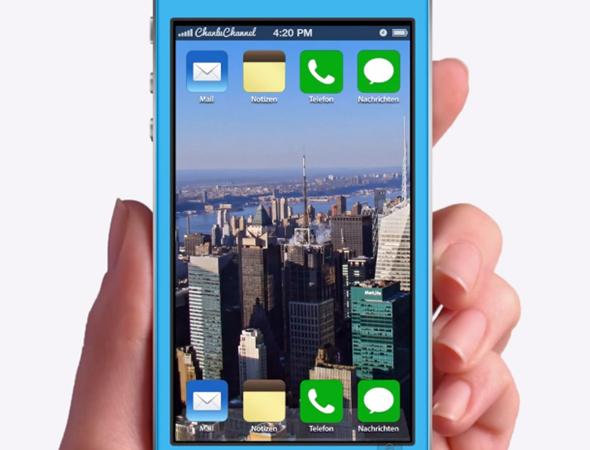 iOS 7 concept flat 1