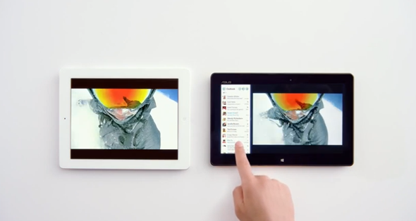 iPad vs Windows 8 Tablet