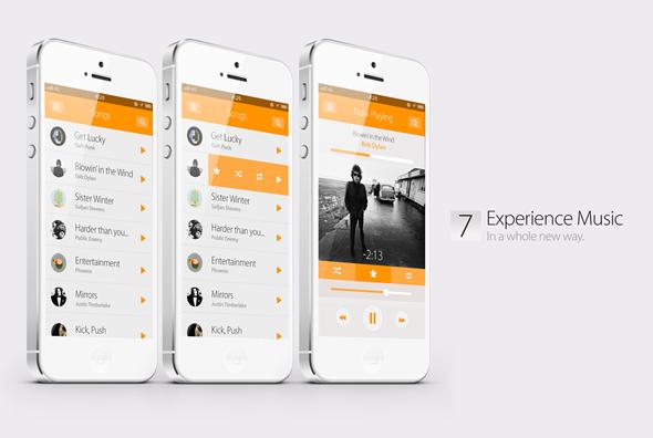 music-ios7-concept-design