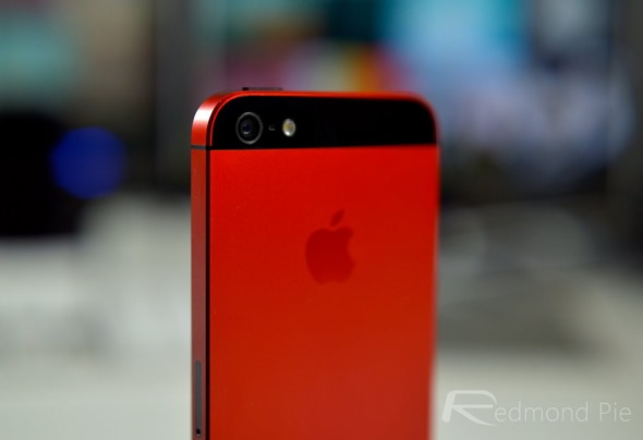 The Red iPhone 5