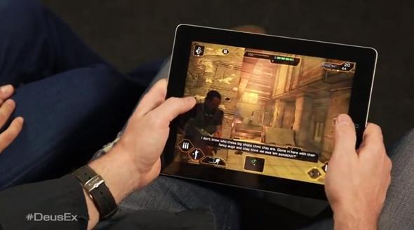Deus Ex iPad 2