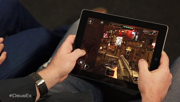Deus Ex iPad
