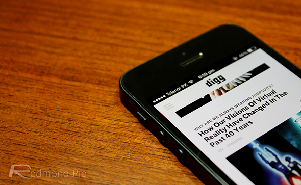 Digg-iPhone