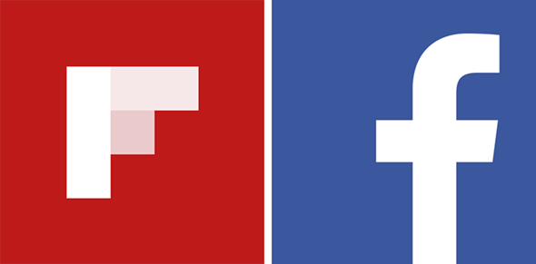Flipboard Facebook Windows 8 logo