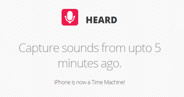 Heard header iPhone