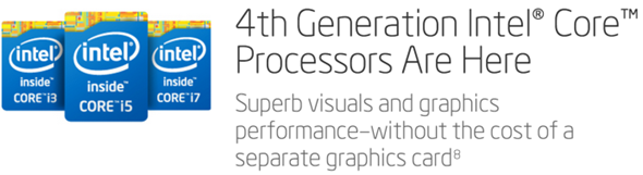 Intel 4th Gen Haswell lineup 1