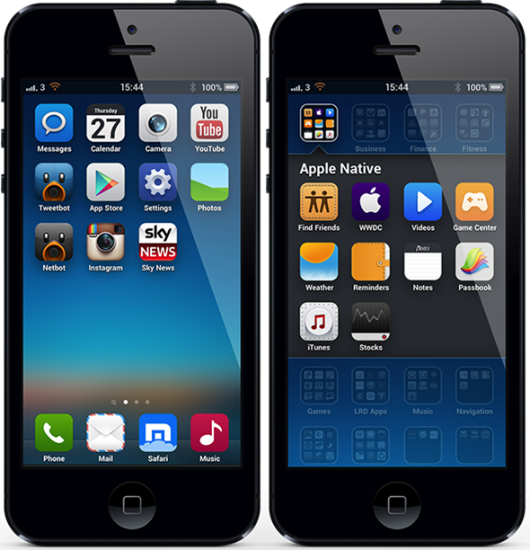 Download The MIUI v5 Theme For iPhone 5 / 4S | Redmond Pie