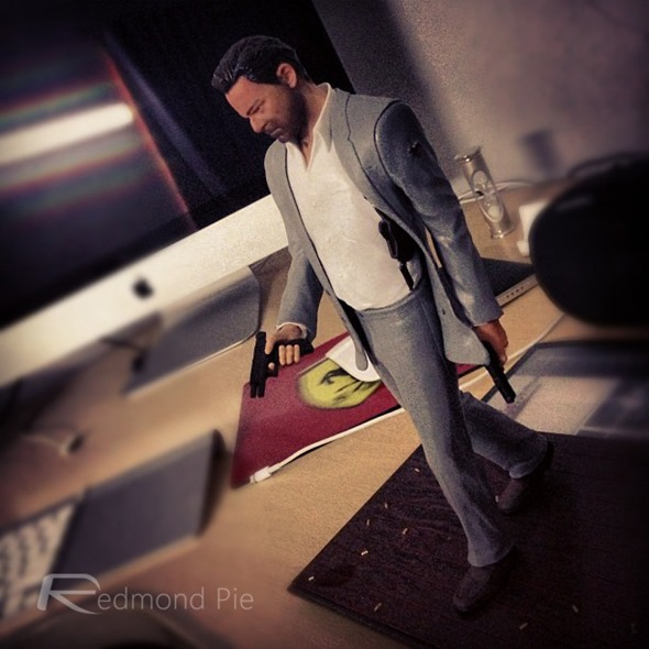 Max Payne 3 action figure