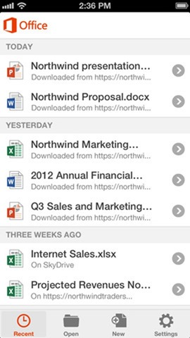Office Mobile iPhone iOS (1)