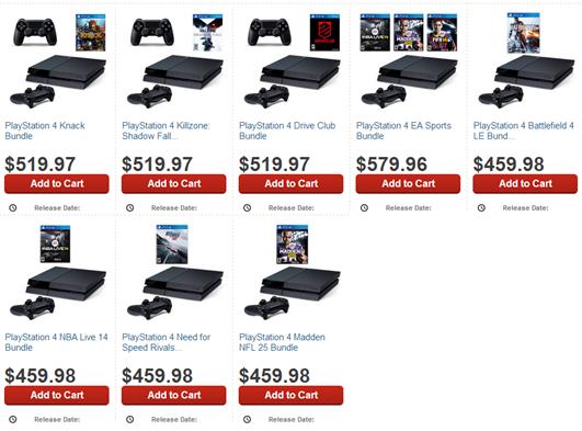 PS4 preorder 1