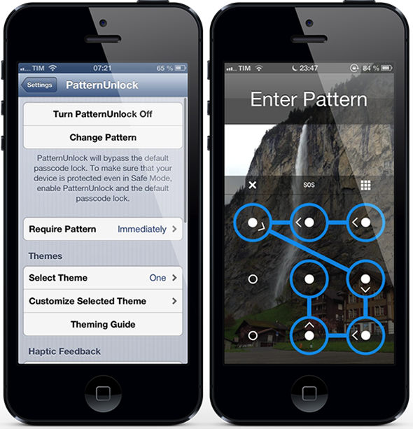 Get Improved Android Pattern Unlock On IPhone With