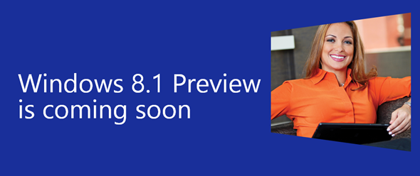Windows 8.1 preview page
