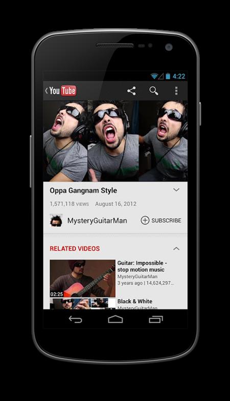 YouTube update 2
