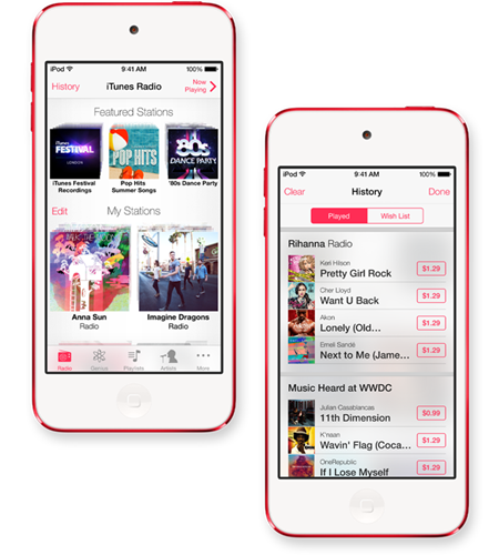 how to activate internet radio on itunes