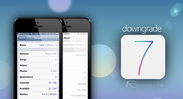 Downgrade iOS 7 Beta To iOS 6.1.3 / 6.1.4 [How-To Tutorial]