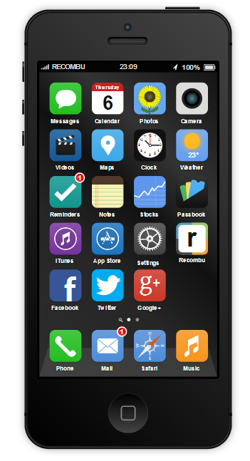 iOS 7 concept iPhone 5S