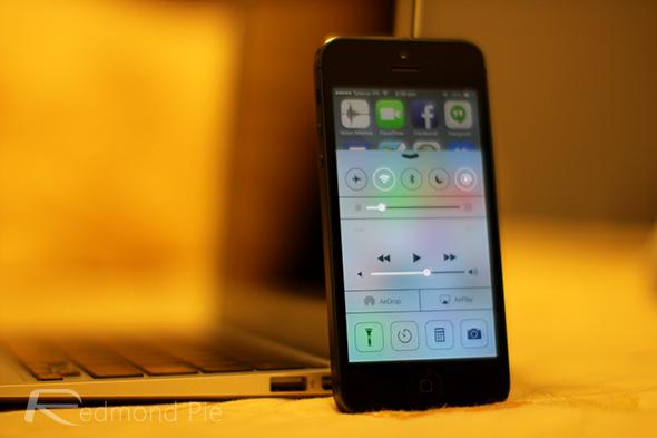 iOS 7 iPhone 5 beta