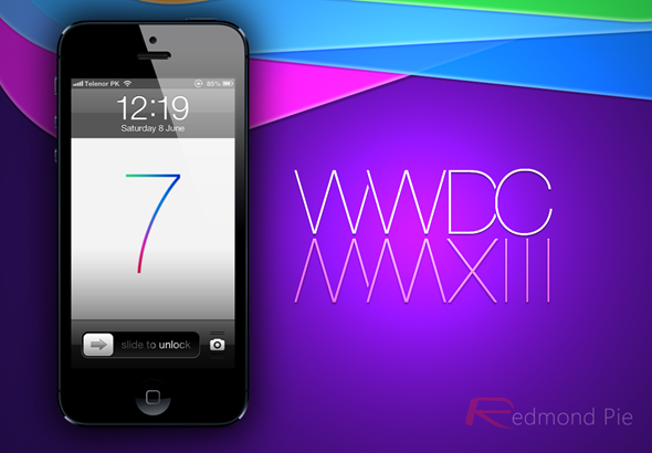 iOS 7 iPhone WWDC