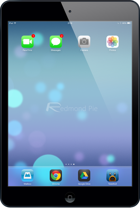 iPad mini iOS 7 beta 2 RP