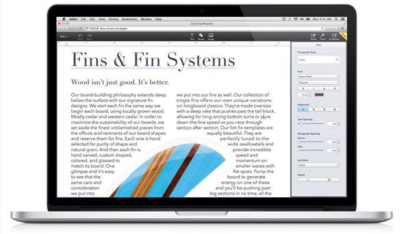 Apple Demos iWork for iCloud: Bringing Pages, Numbers and Keynote To