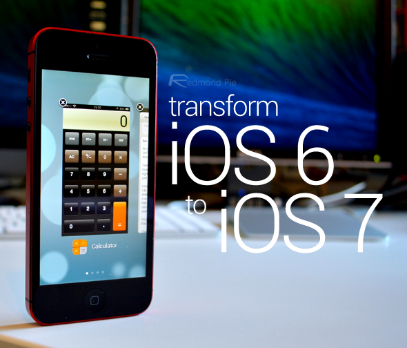 transform ios 6 to ios 7 copy
