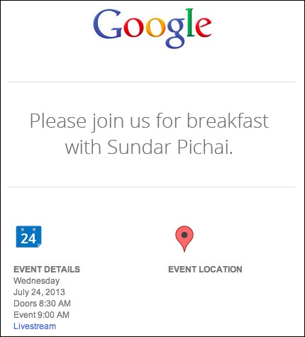 Android event July 24