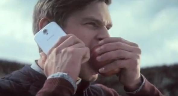 GS4 Apple ad