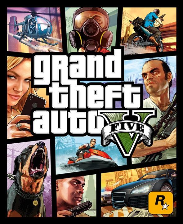 GTA5 box art