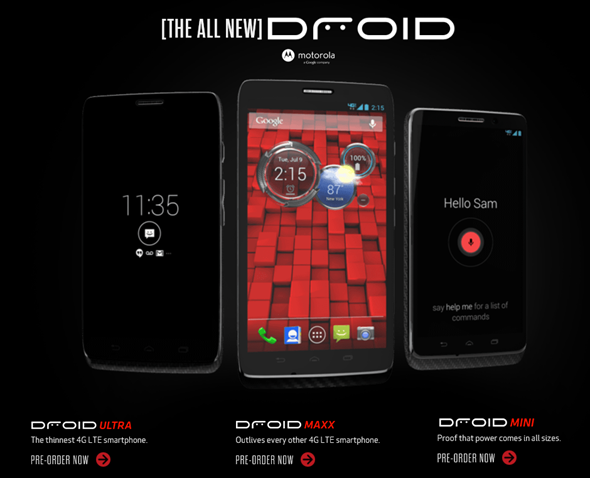 New Droid family