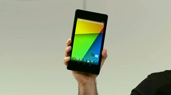 New Nexus 7 front