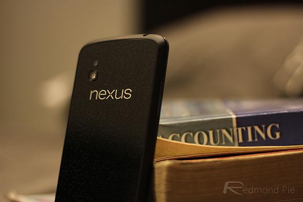 Nexus 4 standing