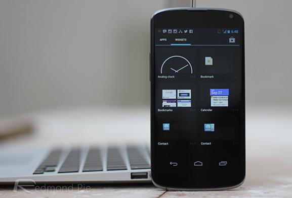 Nexus widgets