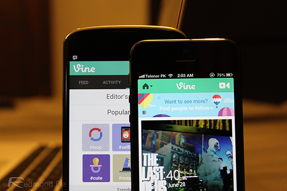 Vine iOS Android